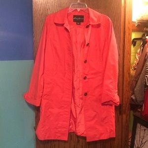 Eddie Bauer Long Trench Coat